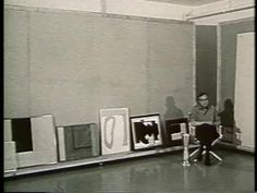 Robert Motherwell On the Open series, 1970  This footage was filmed in Motherwell's Greenwich studio in April 1970.
