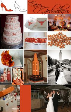 Pink Swan Events - Orange and White Inspiration (www.PinkSwanEvents.com)