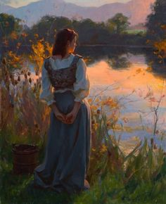 Serenity.  Fine art inspires me--draws me close to God.  Painting, dance, music, photography--any art that's fine moves me.