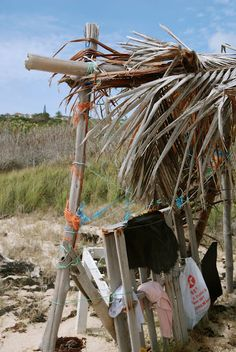 beach shack, Half Moon Bay, Antigua