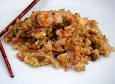 Asopaipas. Recetas de Cocina Casera .: Arroz tres Delicias (Shuǐdào sān qù)