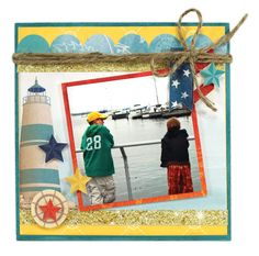 Boardwalk Tile - Click through for project instructions.