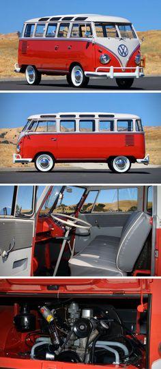Auction Block: 1959 Volkswagen Deluxe 23-Window Bus