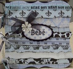 Baby Album - Teresa Collins Bebe Chic collection
