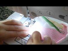 Passo a passo: Como colocar barrado de tecido em fraldas - YouTube
