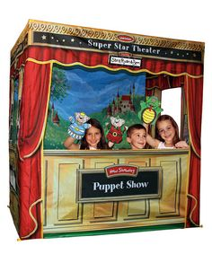 Take a look at this Super Star Theater Deluxe Edition by Lisa LeLeu on #zulily today! How fun is this?