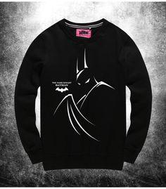 Dark Knight Batman Sweat Shirts Black Dark Knight Hoody For Young