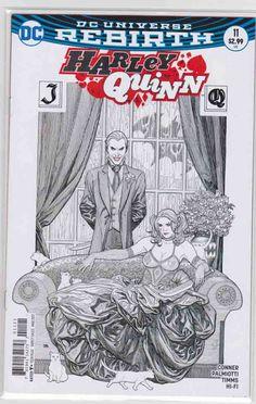 Harley Quinn #11 (2017) Frank Cho Cover. Amanda Conner & Jimmy Palmiotti Story. John Timms Pencils.