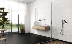Laattakuva: Spectra ideakuvat Ceramic Wall Tiles, Spectrum, Bathtub, Ceramics, Contemporary, Bathroom, Wave, Ceramic Tile Backsplash, Standing Bath