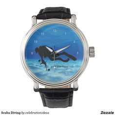 Sold. #Scuba #Diving #Watch #dive #watersport #sport available in different products. Check more at www.zazzle.com/celebrationideas