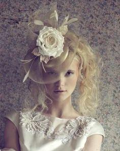 Bridal hat?