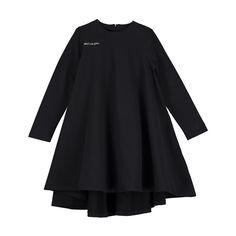 Beau Loves Black Oversized Dress | Ladida