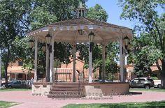 Gazbo in Old Town Albuquerque New mexico