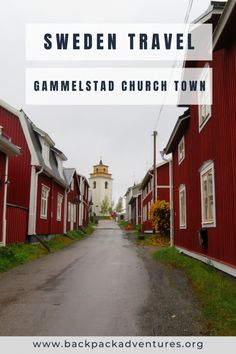 Gammelstad church town in Sweden: a travel guide - Backpack Adventures Finland Travel, Denmark Travel, Norway Travel, European Travel Tips, European Destination, Top Europe Destinations, Travel Aesthetic, Travel Around The World, Travel Guide