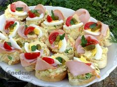 Czech Recipes, Ethnic Recipes, Appetizer Recipes, Appetizers, Overnight French Toast, Sunday Brunch, Going Vegan, Tapas, Food And Drink