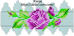 30892_2 — Postimage.org Peyote Patterns, Loom Patterns, Beading Patterns, Crochet Beaded Bracelets, Bead Crochet Rope, Beaded Ornament Covers, Beaded Ornaments, Seed Bead Flowers, Beaded Flowers
