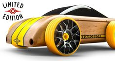 Automoblox beautifully designed wooden cars for kids or adults