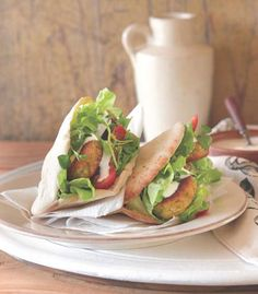 Giannis Falafel Salad with Honey, Orange and Yoghurt dressing Recipe