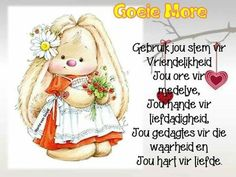 Goeie More Lekker Dag, Afrikaanse Quotes, Goeie More, Good Morning Quotes, Inspirational, Motivation, Drawings, Products, Text Posts