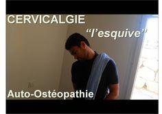 "Neck pain: ""dodge"" Osteopathic Self treatment techniques – acupression Self Treatment, Neck Pain, Feel Good, Massage, Meditation, Health Fitness, Yoga, Gym, Feelings"
