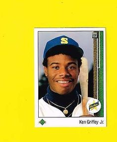 nice 1989 KEN GRIFFEY JR. UPPER DECK ROOKIE RC CARD #1 2016 HOF REDS MARINERS lot 2 - For Sale View more at http://shipperscentral.com/wp/product/1989-ken-griffey-jr-upper-deck-rookie-rc-card-1-2016-hof-reds-mariners-lot-2-for-sale-2/