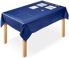 Doctor Who Tardis Tablecloth