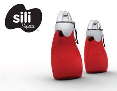 This reusable squeeze pouch with a spill-proof spout that is good for the environment <i>and</i> your pocketbook.