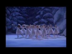 "Waltz of the Snow Flakes in George Balanchine´s ""The Nutcracker ""- The NYC Ballet Nutcracker Movie, George Balanchine, Music Drawings, Snow Flakes, Ballet, Lesson Plans, Nyc, Dance, Youtube"