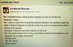 "Lin-Manuel Miranda on Twitter: ""This conversation happened 3 years ago. Keep…"