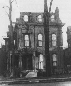 Twain House, 472 Delaware Ave, Buffalo NY - home purchased by his father-in-law as a wedding gift. Samuel Clemens and Livy (Olivia) lived there Feb 1870 - Mar 1871. It was eventually demolished in 1963.