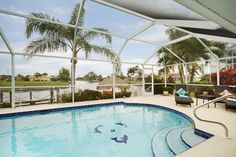 Enjoy with your family in this villa located in Cape Coral This home with east exposure and an oversized lanai and heated pool it features a boat lift with fish cleaning station and easy access to the Gulf of Mexico.