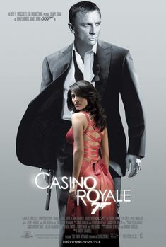 Buy online, view images and see past prices for JAMES BOND: CASINO ROYALE LOT x 3 - 3 x U. / International One Sheet movie posters (Double Sided) - Advance 'Vesper' style teaser, Advance 'Solange' style teaser & Final Design featuring Daniel Craig - James Bond Movie Posters, James Bond Movies, Original Movie Posters, James Movie, Daniel Craig, Love Movie, Movie Tv, Casino Royale Movie, Eva Green Casino Royale