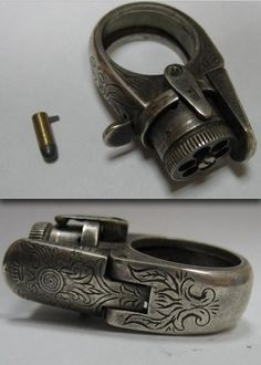 Ring Revolver -- Steampunk before Steampunk!
