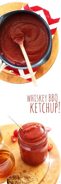 30-minute RICH and saucy Whiskey BBQ KETCHUP! Perfect on burgers, breakfast potatoes, fries and everything in between.