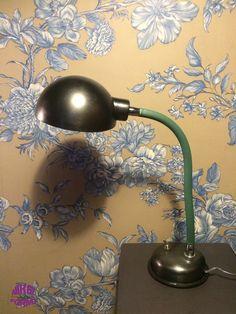 Ancienne Lampe D Architecte Annees 45 50 Marque Super Chrome Par