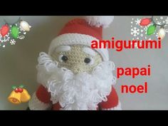 Christmas And New Year, Crochet Baby, Crochet Patterns, Santa, Kitty, Knitting, Crafts, U2, Youtube