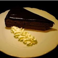 Sacher Tort: This is pretty darn close to the original classic dessert produced by the Sacher Hotel in Vienna, Austria. It is a dense, not-too-sweet, apricot and chocolate concoction. It is a lot of work but WELL worth the effort!