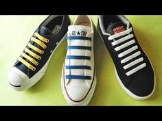 Creative Shoes, Creative Crafts, Ways To Lace Shoes, Cute Pillows, Tie Shoes, Converse Sneakers, Cool Designs, Tights, Pattern