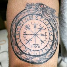 Sangamesh's tumblr — My new tattoo. Vegvisir compass., a protection...