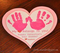 HANDmade Valentine's Card