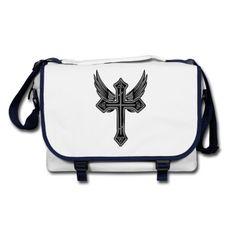 Kreuz und Flügel im GOTHIC-Stil. Cooles Design, das nicht jeder hat! Ich habe weitere moderne Motive im Angebot.