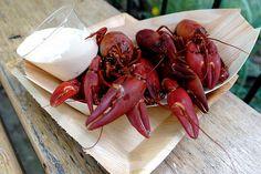 Crayfish & thousand island dressing