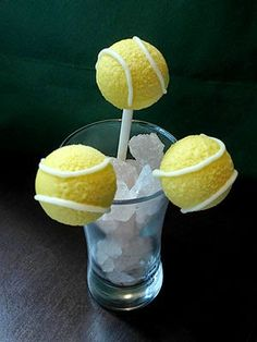 #Tennis Ball Cake Pops Recipe