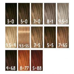 Schwarzkopf Hair Colour, Igora Hair Color, Schwarzkopf Igora Royal, Ammonia Free Hair Color, Coarse Hair, Permanent Hair Color, Dream Hair, Color Theory, Beauty And The Beast