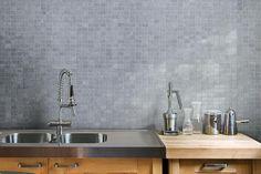 Piastrelle cucina, formato 10x10 e 20x20, bianco lucido o opaco ...