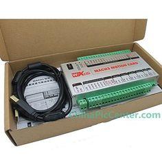 Mach3 USB 4 Axis CNC Motion Control Card Breakout Board 400KHz Support Windows 7 Upgrade ChinaPlcCenter http://www.amazon.com/dp/B00X6S6BQK/ref=cm_sw_r_pi_dp_N3Plwb083A3H2