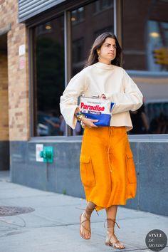 New York Fashion Week SS 2016 Street Style: Leandra Medine