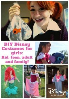 DIY Disney Costumes for Girls of All Ages!