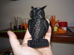 3D Owl Model to 3D Print
