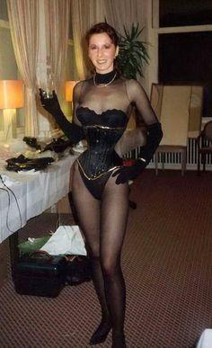 Corset and nylons pics cute nylon models in corset porn